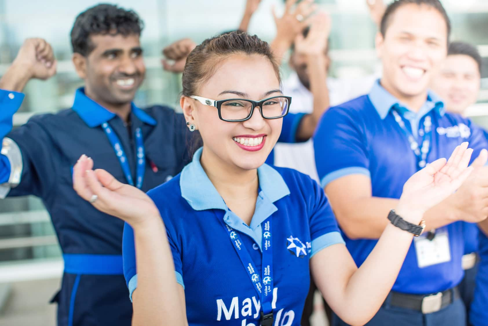 Hospitality customer experience design for Dubai airports