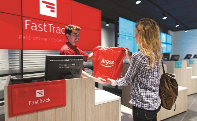Service design case for Argos