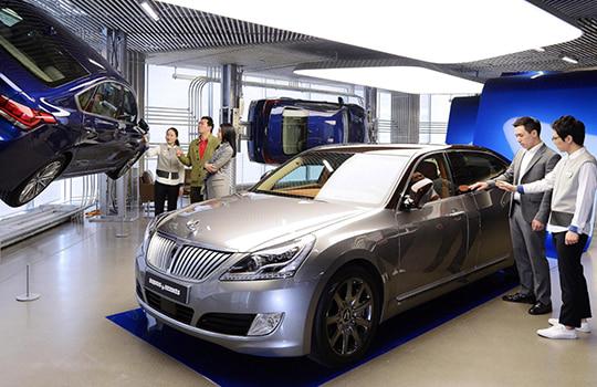 Retail service design for Hyundai Motor