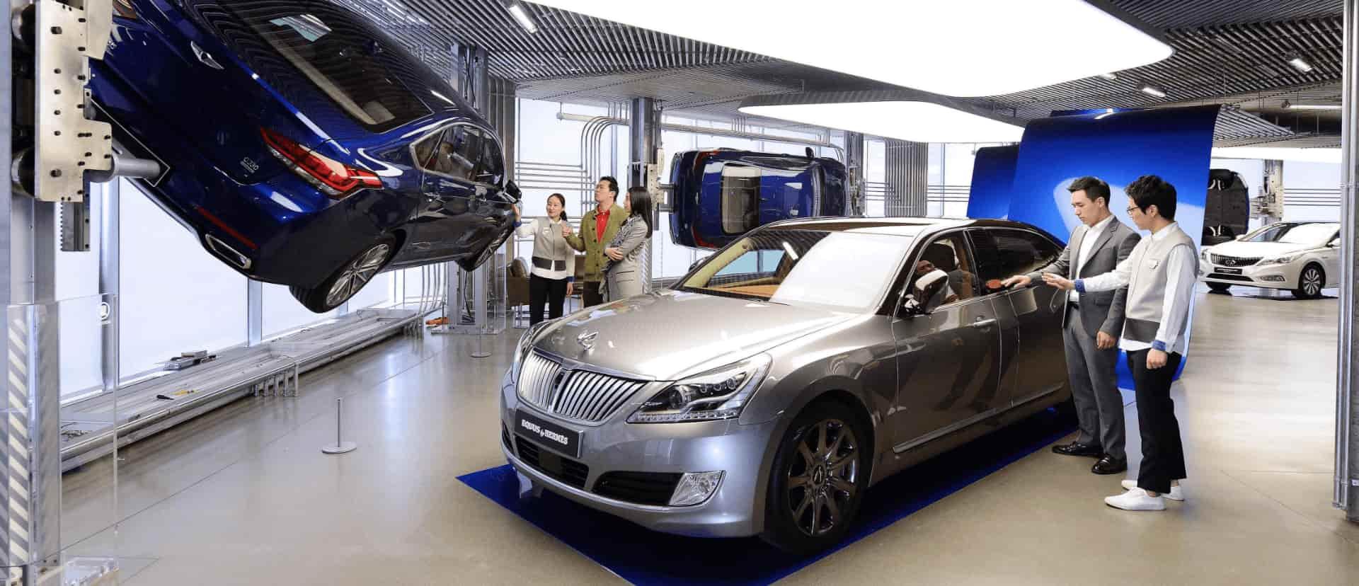 Retail experience design for Hyundai Motor