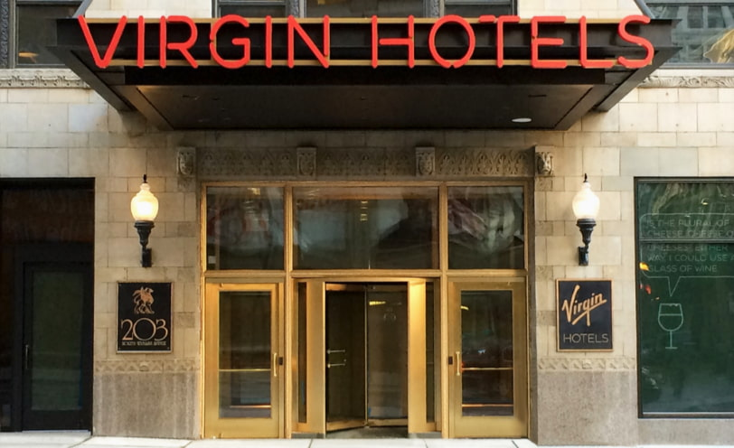 Service design case for Virgin Hotels