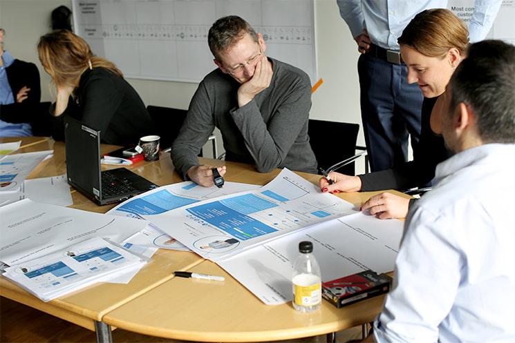 Service design for Nordea Banking
