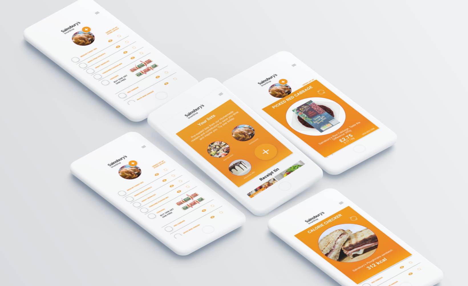 Sainsbury's service design development