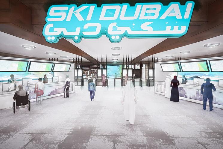 Customer experience design for Ski Dubai