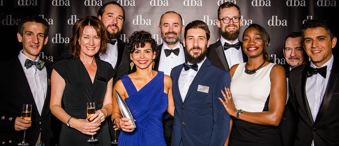 dba 2018 design effectiveness award winners