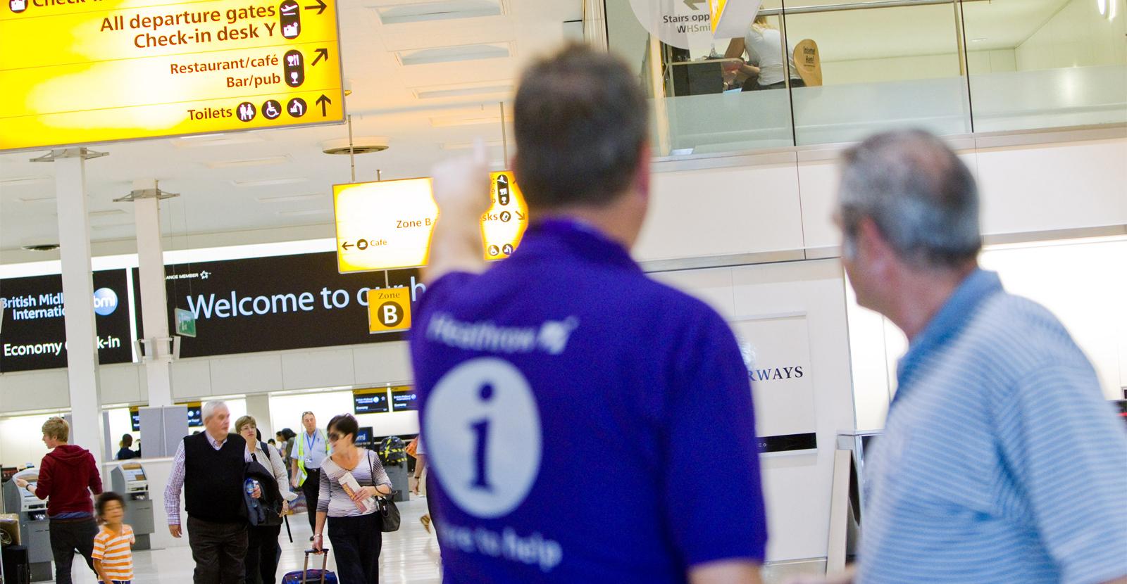 london heathrow airport service standard by engine