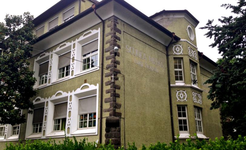 Merano School where Samsung School is implemented