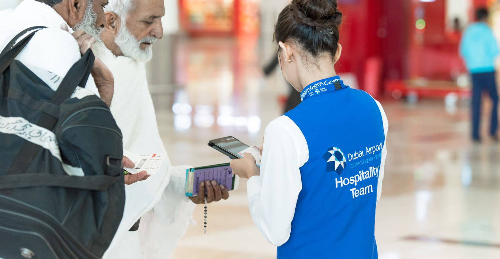 dubai airports hospitality customer experience pilot by engine