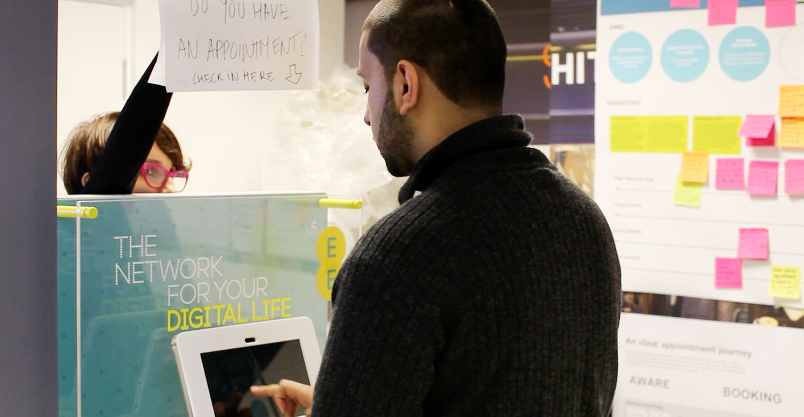 ee telecoms digital retail experience by engine