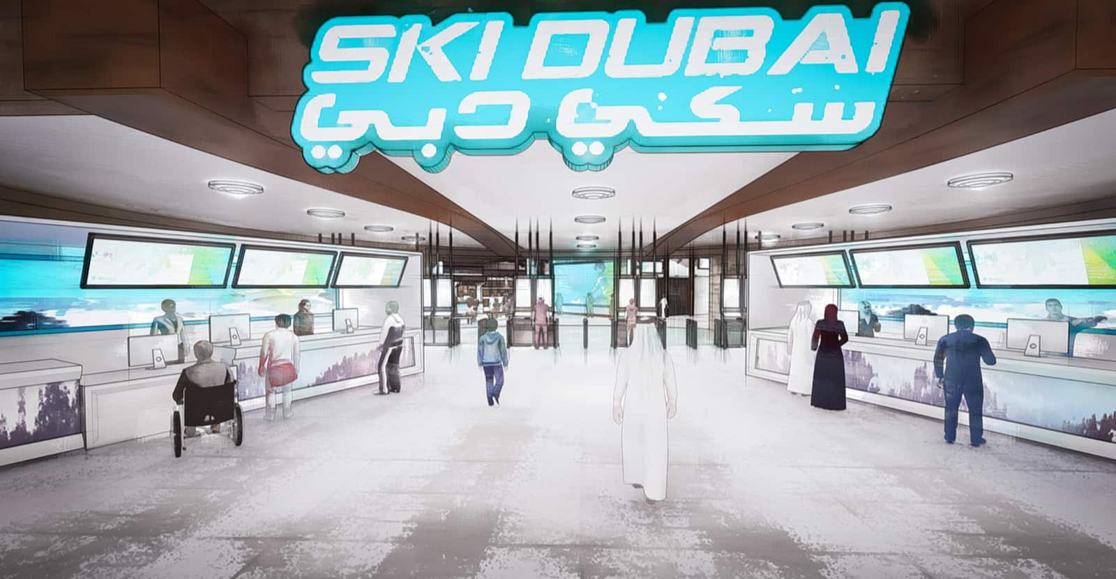 ski dubai elevate customer experience by engine