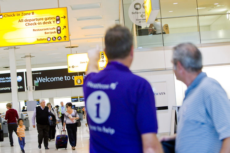 Service standart development for London Heathrow Airport
