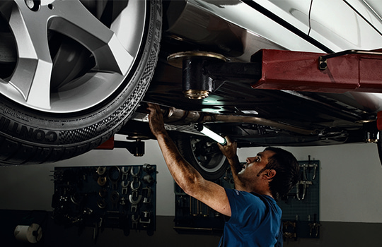 Service model development for Mercedes Benz